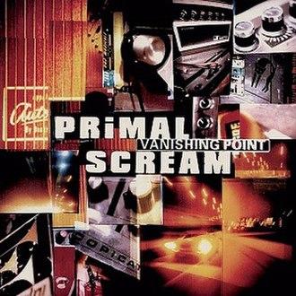 Vanishing Point (Primal Scream album) - Image: Vanishing point album cover