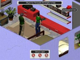 NDreams - A screenshot of Venus Redemption.