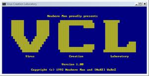 Virus Creation Laboratory - Image: Virus Creation Laboratory (screenshot)