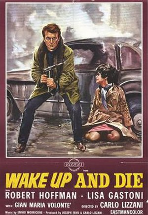 Wake Up and Die - Italian (English import) film poster