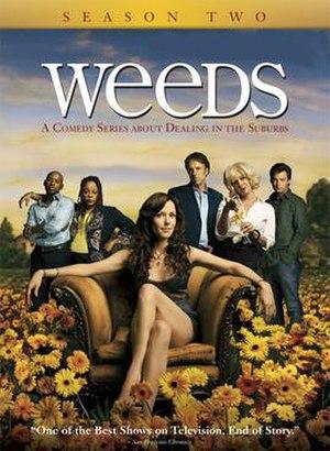 Weeds (season 2) - Image: Weeds S2 DVD