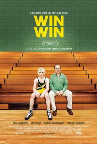 Win Win (film) - Theatrical release poster