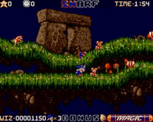 Wiz 'n' Liz - Screenshot from the Amiga version