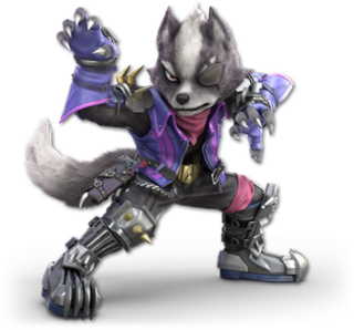Wolf ODonnell fictional character from the Star Fox video game series