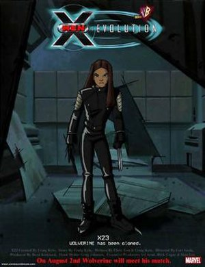 "X-23 - Promo shot for the ""X-23"" episode of X-Men: Evolution"