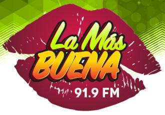 XHEC-FM - Image: XHEC La Mas Buena 91.9 logo