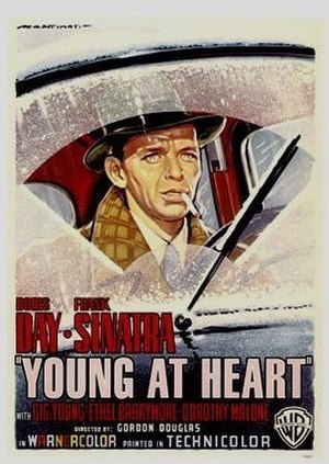 Young at Heart (1955 film) - Theatrical release poster
