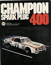 Official flyer featuring Benny Parsons