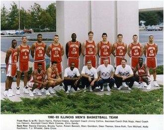 """1992–93 Illinois Fighting Illini men's basketball team - """"1992-93 Fighting Illini men's basketball team"""""""