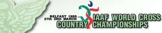 1999 IAAF World Cross Country Championships - Image: 1999 IAAF World Cross Country Championships Logo