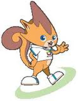 2005 East Asian Games - Pak Pak the squirrel as the official mascot