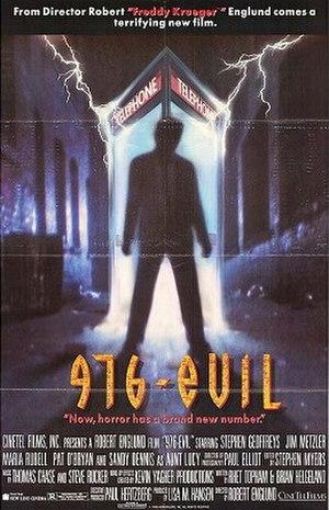 976-EVIL - DVD cover