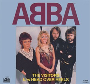 The Visitors (song) - Image: ABBA The Visitors (US)