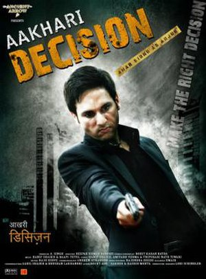 Aakhari Decision - Poster