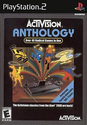 Activision Anthology - Cover art for the PlayStation 2 version
