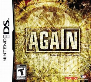 Again (video game) - Image: Again Cover