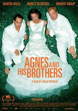 Agnes and His Brothers - Image: Agnes and His Brothers Film Poster