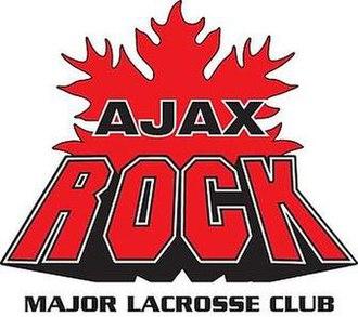 Oakville Rock - Ajax Rock logo from 2011 to 2012.