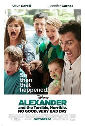 Alexander and the Terrible, Horrible, No Good, Very Bad Day (film) - Image: Alexander and the Terrible, Horrible, No Good, Very Bad Day poster