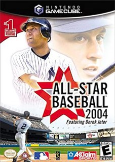 <i>All-Star Baseball 2004</i> 2003 baseball video game