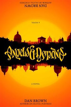 Angels & Demons - First edition cover