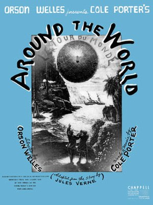Around the World (musical) - Sheet music cover