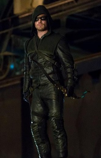 Arrow (TV series) - The Arrow costume, worn by Stephen Amell, during the first season.