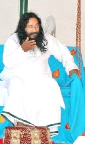 Ashutosh (spiritual leader) - Ashutosh during one of his preaching sessions