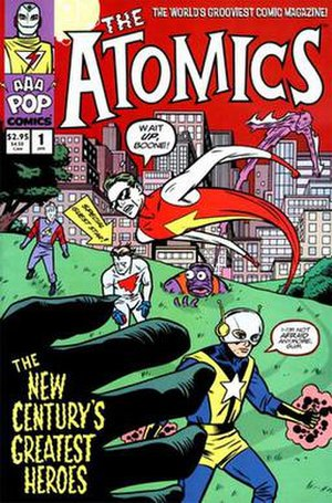 Atomics (comics) - Cover of the first issue