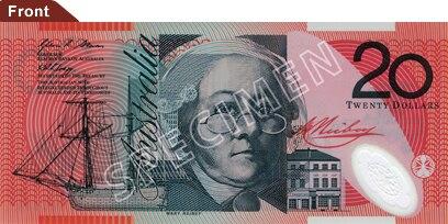 Australian $20 polymer front