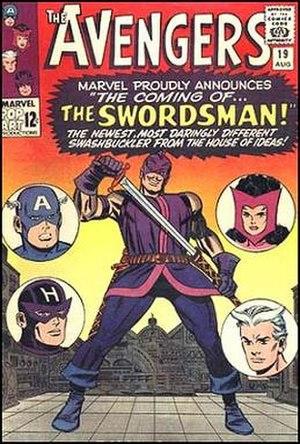 Swordsman (comics) - Image: Avengers 19