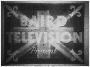 John Logie Baird - An early experimental television broadcast