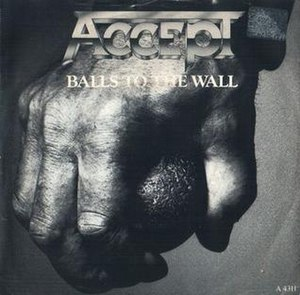 Balls to the Wall (song) - Image: Balls to the Wall single