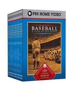 <i>Baseball</i> (TV series) documentary series from 1994 about the game of baseball