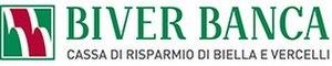 Cassa di Risparmio di Biella e Vercelli - Image: Biver Banca logo