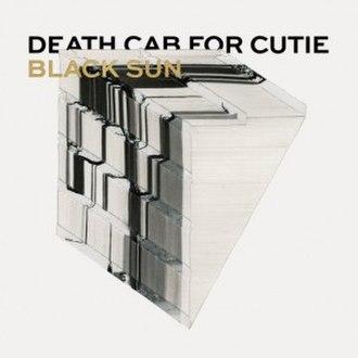 Black Sun (Death Cab for Cutie song) - Image: Black Sun cover