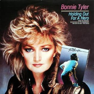 Holding Out for a Hero - Image: Bonnie Tyler Holding a Hero