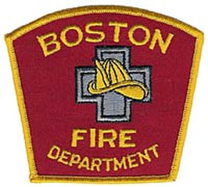Boston Fire Department - Image: Boston Fire Department patch