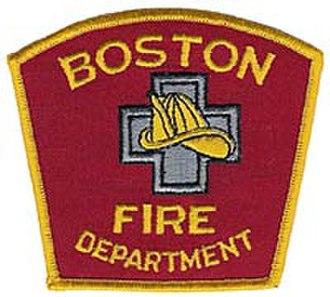 Boston Fire Department - Image: Boston Fire Department patch