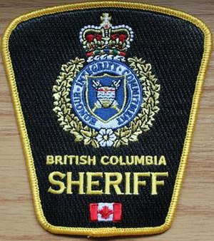 British Columbia Sheriff Service - Image: British Columbia Sheriff Service (badge)
