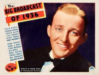 The Big Broadcast of 1936 - Theatrical release poster