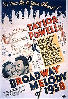 <i>Broadway Melody of 1938</i> 1937 film by Roy Del Ruth