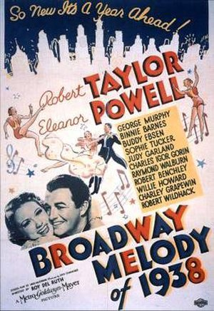 Broadway Melody of 1938 - Theatrical release poster