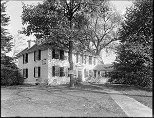 Buckman Tavern - Buckman Tavern in 1929