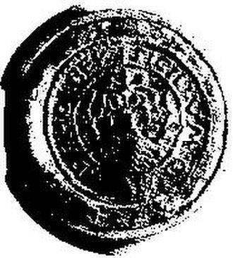 Holbæk - City Seal ca. 1400