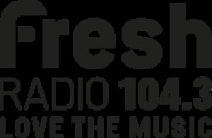 CKWS-FM - Image: CKWS fresh Radio 104.3 logo