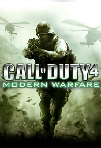 Call of Duty 4: Modern Warfare - Cover art used for all territories