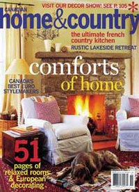 home and decor magazine canada canadian home amp country 12186
