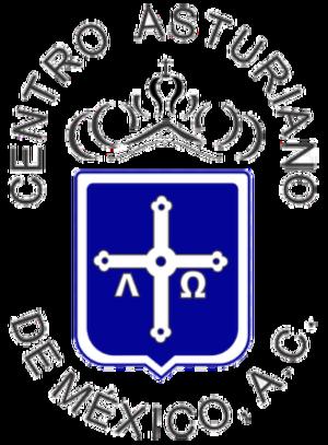 Centro Asturiano de México - Image: Centro asturiano mexico logo