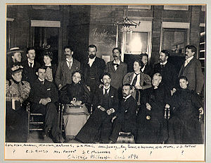 "Pragmatism - The ""Chicago Club"" including Mead, Dewey, Angell, and Moore. Pragmatism is sometimes called American Pragmatism because so many of its proponents were and are Americans."